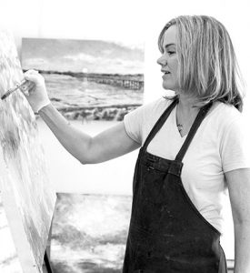 encaustic painter