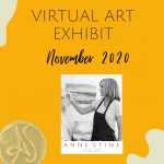 virtual art exhibit by Anne Stine Fine Art