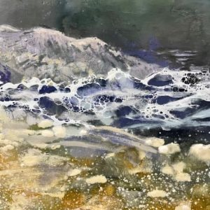 abstract water painting